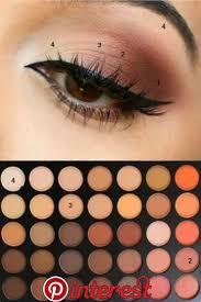 brown eyeshadow tutorial makeup