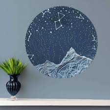 Lyra Constellation Wall Decal Astronomy Wall Decal