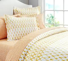 skye bedding ensemble king yellow