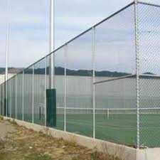 Tennis Court Fencing Link Fence Poultry Chain Link Fencing च न ल क फ स ग In Saroornagar Hyderabad Ramesh Wire Mesh Industries Id 6261289212