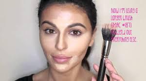 how to contour highlight makeup