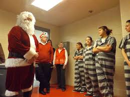 inmates get a visit from santa anderson