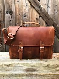 full grain leather messenger bag 15