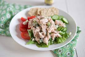 Fresh Salmon Salad Recipe - Aggie's Kitchen