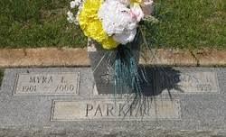 Myra Estelle Woodard Parker (1901-2000) - Find A Grave Memorial