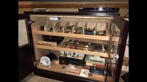 custom cabinet humidor tour you