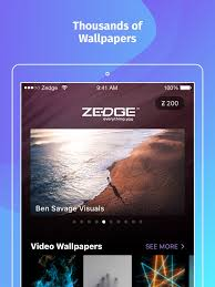 zedge wallpapers on the app