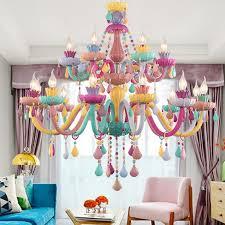 Multi Color Chandelier For Children Room Bedroom Nursery Kids Chandelier Lighting K9 Crystal Italian Crystal Chandeliers Fixture Chandeliers Aliexpress