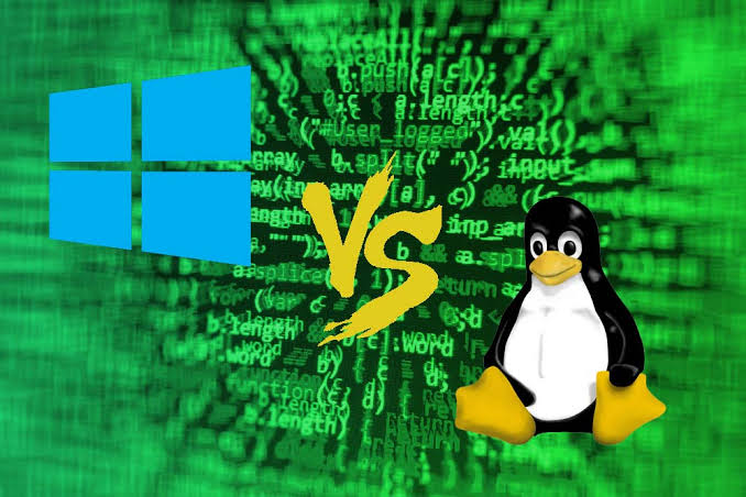 Image result for windows vs linux""