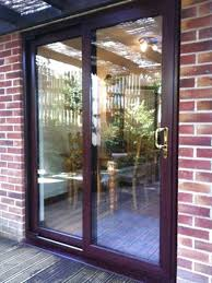 second hand sliding patio doors in