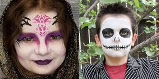 30 easy halloween face paint ideas