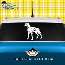 Greyhound Dog Vinyl Car Sticker Decal Graphic