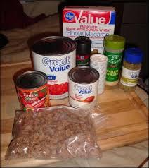homemade beefaroni in one skillet