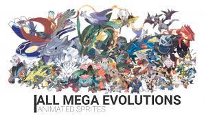 All Mega Evolutions (Animated Sprites) - YouTube