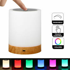 Eeekit Bedside Touch Sensor Lamp Usb Dimmable Table Lamp Led Rechargeable Battery Built In 6 Smart Atmosphere Mode Night Light Soft And Dimmable Light Room Decor Kids Gift Walmart Com Walmart Com