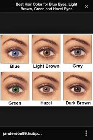 brown eyes look hazel without makeup