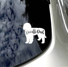 Doodle Dad Car Decal Doodle Love Goldendoodle Lover Car Sticker Car Accessory Goldendoodle Labradoodle Dad Doodle Sticker Dog Lover Sticker Design Goldendoodle Doodles