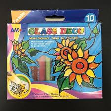 amos lable glass deco paint kit 10