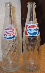 pictures of pepsi bottles found these