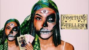 y fortune teller makeup