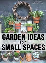 20 garden ideas for small spaces