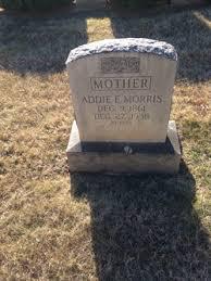 "Adelaide Elvira ""Addie"" Watson Morris (1861-1938) - Find A Grave Memorial"
