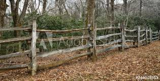 Mid Century Appalachian Black Locust Split Rail Fence On The Blue Ridge Parkway Zds Americana Fences Gallery Buy This Stock Photo And Explore Similar Images At Adobe Stock Adobe Stock
