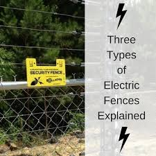 Three Types Of Electric Fences Explained America Fence