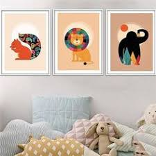 30 Cute Animals Art Paintings Children Rooms Ideas Nursery Wall Decor Kid Room Decor Kids Room