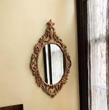 vintage mirror gold mirror wall mirror