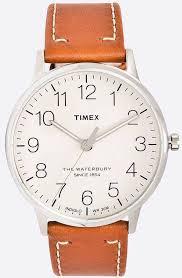 men s timex waterbury classic brown
