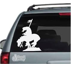 Native American Car Decals Stickers Decal Junky
