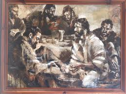 Dimitry Atvin The Last Supper, Heart of the Leaders - Green Acres