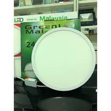 Đèn LED ốp trần lắp nổi tròn - 24W, Giá tháng 9/2020