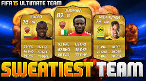 FIFA 15 | SWEATIEST TEAM EVER - FT. IBARBO, DOUMBIA & AUBAMEYANG - YouTube