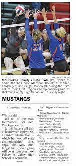 McCracken County Volleyball 2015 Region 1 Champions 2B - Newspapers.com