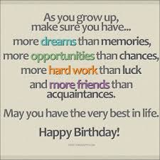 happy birthday inspirational quotes birthday wishes