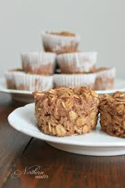 apple cinnamon baked oatmeal cups thm