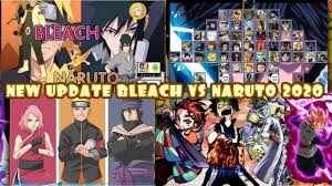 NEW UPDATE CHARACTERS! BLEACH VS NARUTO 3.3 MODDED ANDROID [400MB DOWLOAD]  in 2020