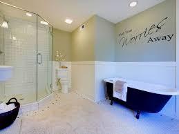 Modern Transfer Home Decor Bathroom Wash Your Worries Away Wall Art Sticker Stickers Home Garden