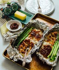 Miso Butter Cod Foil Packets - Cod ...