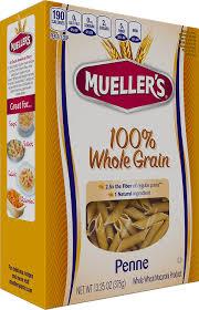 100 whole grain penne mueller s pasta