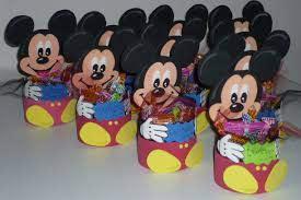 Goma Eva Minnie Mouse Minimandy Golosinero De Mickey En Goma