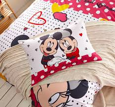 mickey minnie mouse polka dot bedding