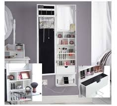 makeup mirror organiser storage armoire