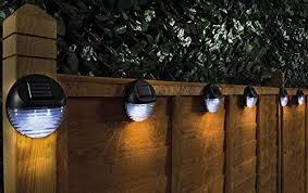 Solar Powered Led Garden Fence Lights Wa Buy Online In Trinidad And Tobago At Desertcart