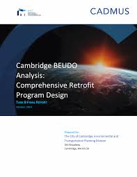 Cambridge BEUDO Analysis: Comprehensive Retrofit Program Design