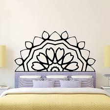 Diy Newest Lotus Meditation India Buddha Vinyl Decal Symnol Namaste Mandala Yoga Art Bedside Wall Sticker Interio Bedroom Home Decorative Buy At The Price Of 12 99 Rub In Miniinthebox Com Imall Com
