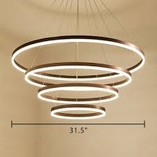 satin white multi light pendant