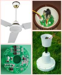 dc 12v ceiling fan with remote control